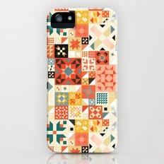 Modern Quilt Pattern iPhone (5, 5s) Slim Case