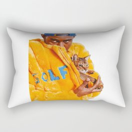 Tyler The Creator Poster Rectangular Pillow