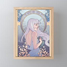 Lady Amalthea Framed Mini Art Print