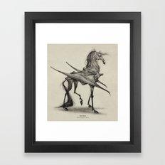Thestral  Framed Art Print