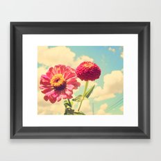 Lovely flower Framed Art Print