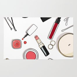 Beauty Routine Rug