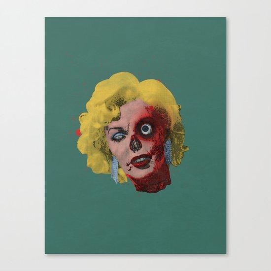 Gentlemen Prefer Zombz Canvas Print