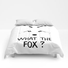 What the fox ? Comforters