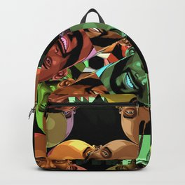 coby pattern Backpack