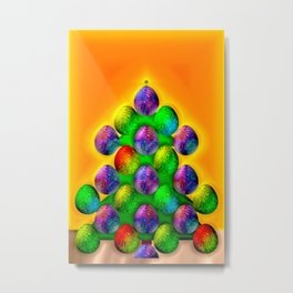 Christmas tree for economicals ... Metal Print