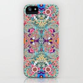 Mandala - Turquoise Boho iPhone Case