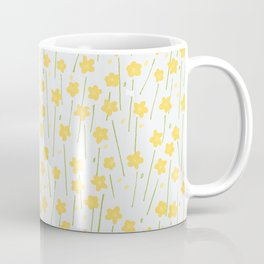 Buttercup Field M+M Evergreen by Friztin Coffee Mug