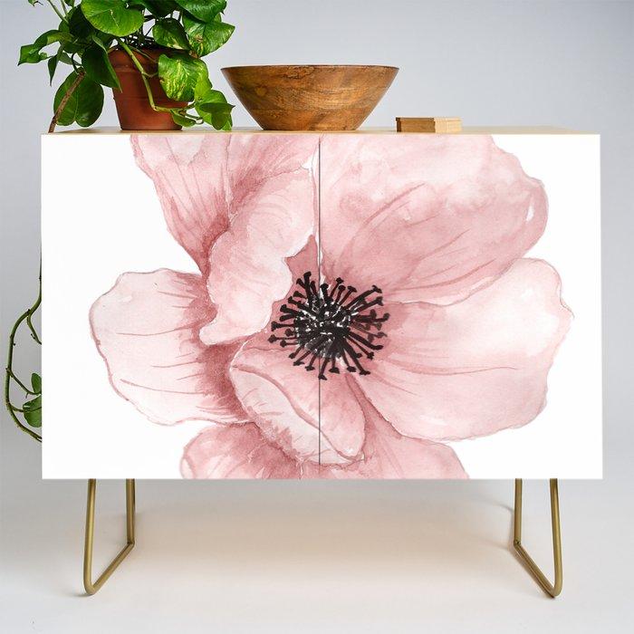 Flower 21 Art Credenza
