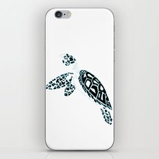 Calligram Sea Turtle iPhone & iPod Skin
