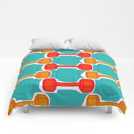 Dumbbells Comforters