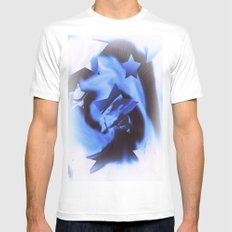 Starburts II cold blue Mens Fitted Tee White MEDIUM