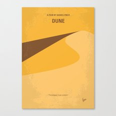 No251 My DUNE minimal movie poster Canvas Print