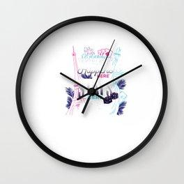 Las Vegas Souvenir graphic - Sin City Gift - Gambling Tee Wall Clock
