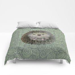 Cute Baby Hedgehog Comforters