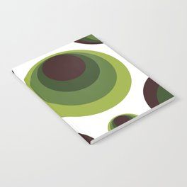 Back To The 70's In Green Notebook