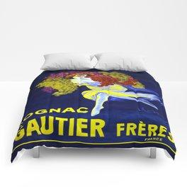 Vintage poster - Cognac Gautier Freres Comforters