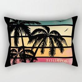 Tijuana Mexico Vintage Summer Rectangular Pillow