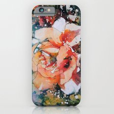 Everythings Peachy . . . Batik Peach Rose Slim Case iPhone 6s
