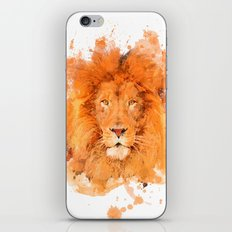 Splatter Lion iPhone & iPod Skin
