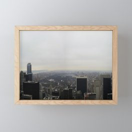 Fifty Shades of grey NYC Framed Mini Art Print