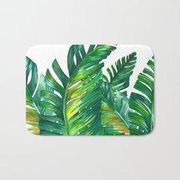 tropical green 2 Badematte