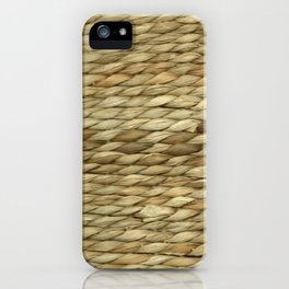 Weaved texture iPhone Case