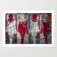 Body Language 51 Art Print