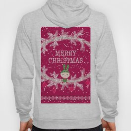 Merry christmas and happy new year 12 Hoody