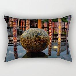 Arashiyama Orb Rectangular Pillow