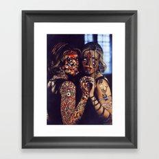 Psychoactive Bear 2 Framed Art Print