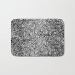 Pattern psychedelia Bath Mat
