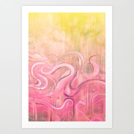 Cascade II Art Print