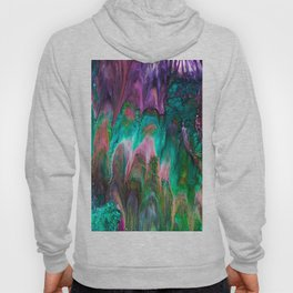 Colorful wild enigma flowing colors Hoody