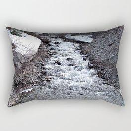 Mountain Run Off Rectangular Pillow
