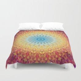 Sun Mandala Duvet Cover