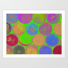 The Lie is a Round Truth 2 Art Print