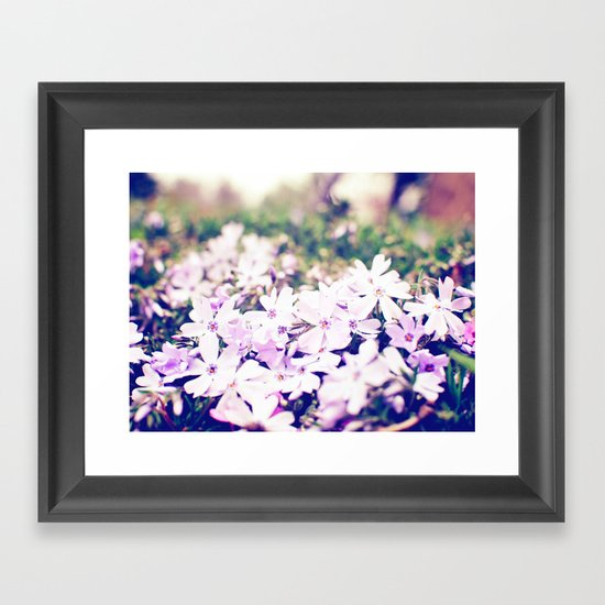 From the Ground Framed Art Print