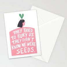 Women's March Poster 2017 Stationery Cards
