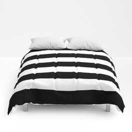 BLACK & WHITE STRIPES XL Comforters