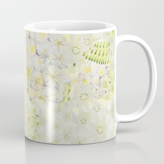 Lemon Abstract Mug