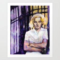 Cora by Aaron Bir Art Print