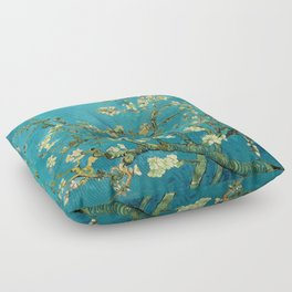 Vincent Van Gogh Blossoming Almond Tree Floor Pillow