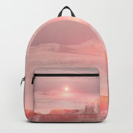 Pastel desert Backpack