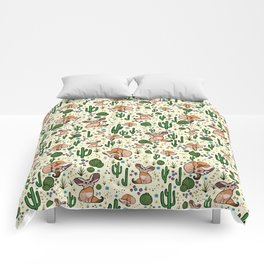Fennec Foxes Comforters