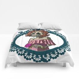 Skull nouveau Comforters