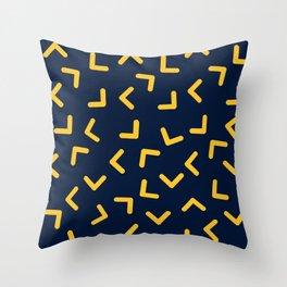 Boomerangs / V pattern Throw Pillow