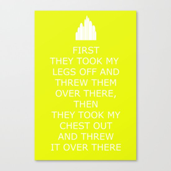 Keep Calm in the Emerald City 5 Canvas Print