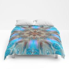 Frozen Snow Crystal Comforters