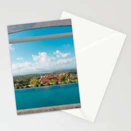 swimming pool in paradise Stationery Cards